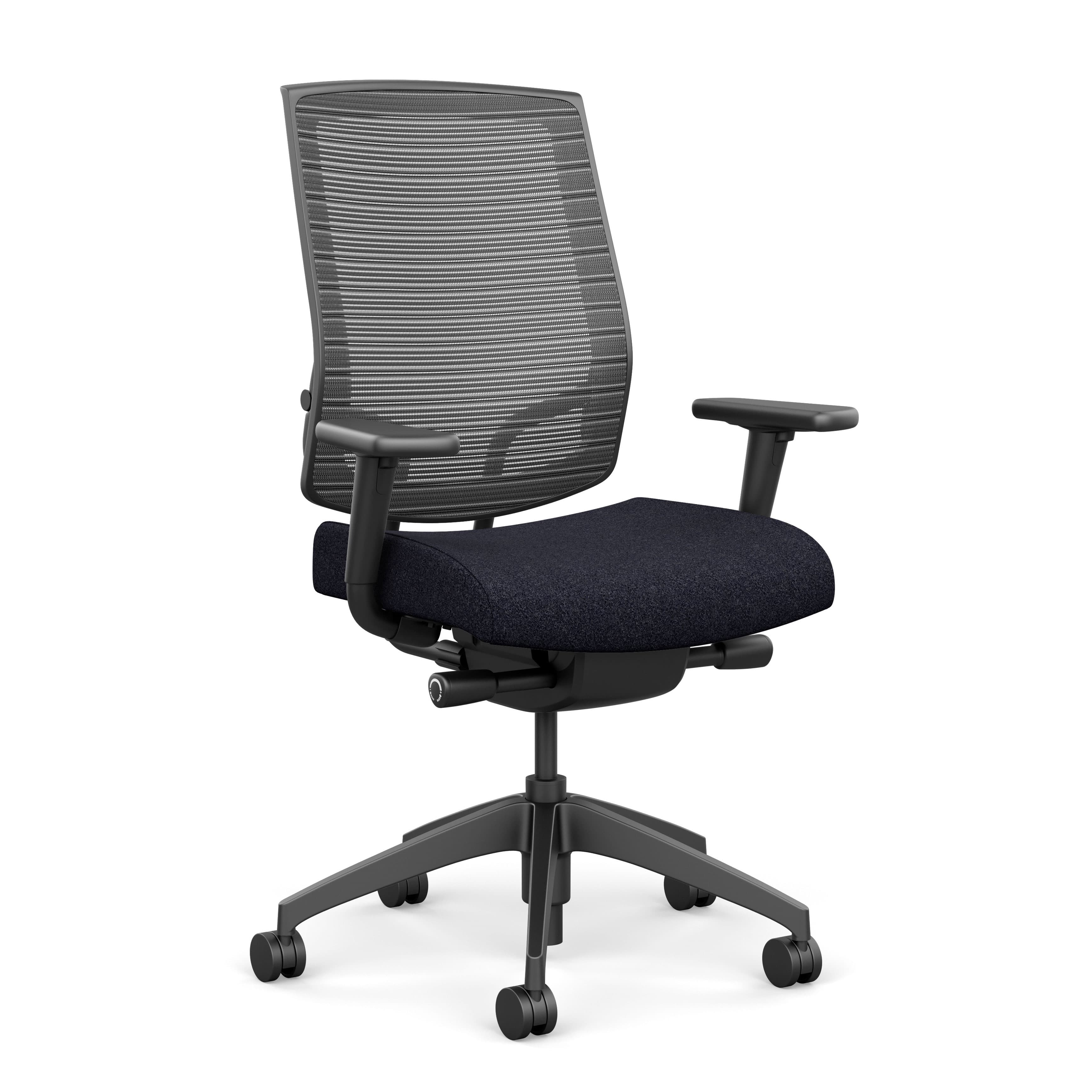 Focus Highback Mesh Task Chair with Adjustable Arms