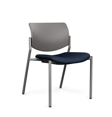 Freelance Side Chair with Arms and Casters