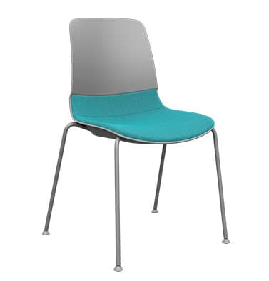 Mika Upholstered Stacking Chair